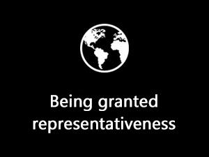Being granted representativeness: